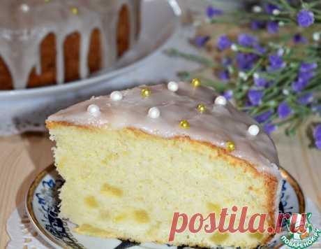 """Пирог с ананасом """"Тропиканка"""" – кулинарный рецепт"""