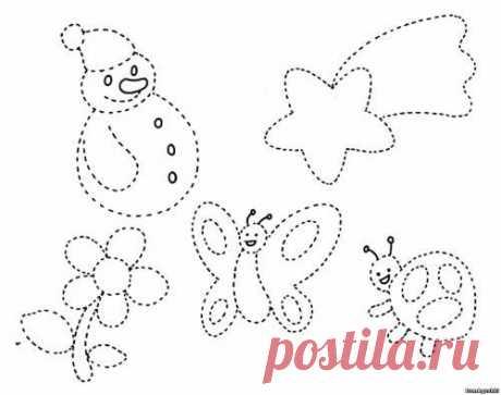 Po tochkam (2) - Соединяем по точкам - Дошкольное развитие ребенка - БумАгушки - детские раскраски и многое другое