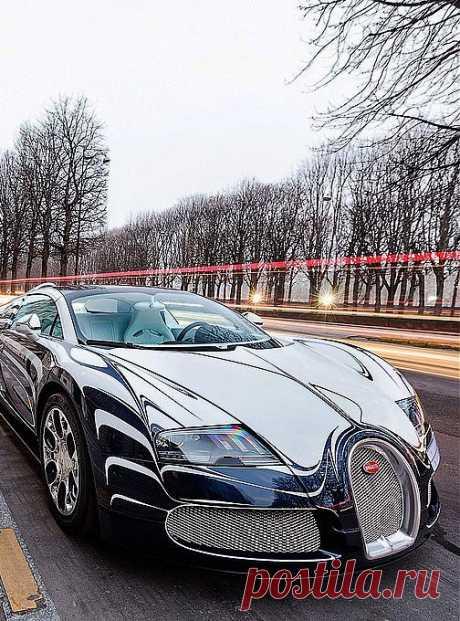 Bugatti Veyron L'Or Blanc |авто