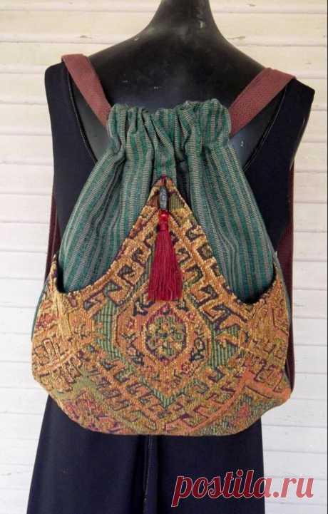 Текстильная сумка на пике трендов. ЭКО стиль. Много Идей + простые выкройки. | Хобби не модистки | Яндекс Дзен