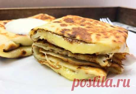 Шикарные блинчики с сыром | Фуд Бук | Яндекс Дзен