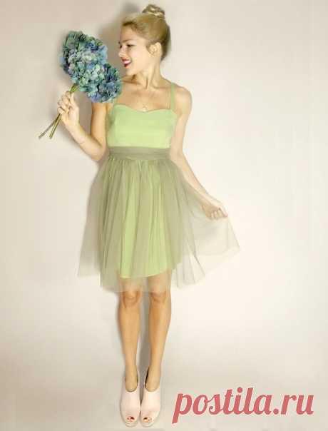 Превращение простого платья в нарядное / Платья Diy / Модный сайт о стильной переделке одежды и интерьера