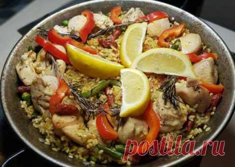 (8) GC: паэлья с колбасками chorizo - пошаговый рецепт с фото. Автор рецепта Gastrochemistry . - Cookpad