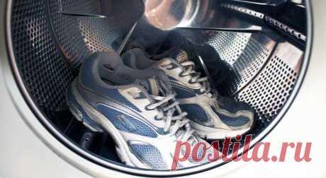 Стирка обуви в стиральной машине | Делимся советами