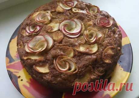 Шарлотка или яблочный пирог - пошаговый рецепт с фото. Автор рецепта Любовь . - Cookpad