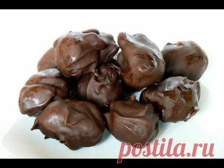 """Домашние конфеты """"Чернослив в шоколаде"""""""