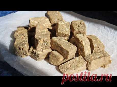 Халва без сахара, муки и белка / Полезные сладости / ПП рецепты