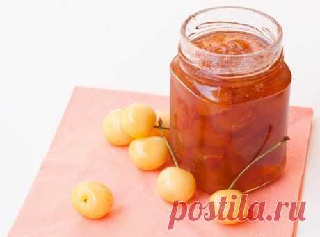 Варенье из желтой черешни с грецкими орехами – рецепт с фото, как приготовить на Вкусно Дома