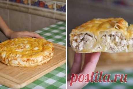 Cочный пирог из лаваша с мясом: нет ничего проще и вкуснее! – БУДЬ В ТЕМЕ