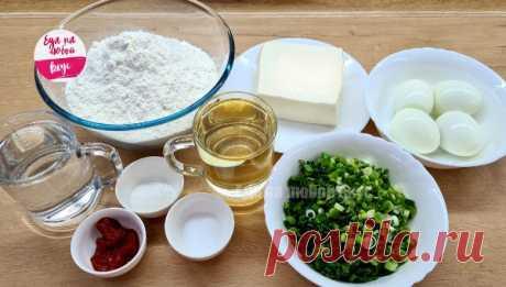 Пирожки без дрожжей из быстрого теста и вкусной начинки | Еда на любой вкус