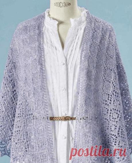 Beautiful shawl spokes