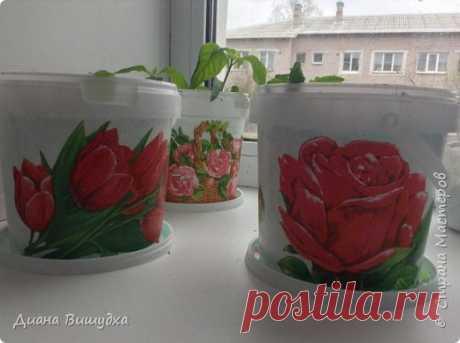 МК горшочки для цветов/рассады | Страна Мастеров