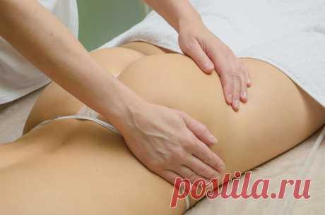 антицеллюлитный массаж ягодиц