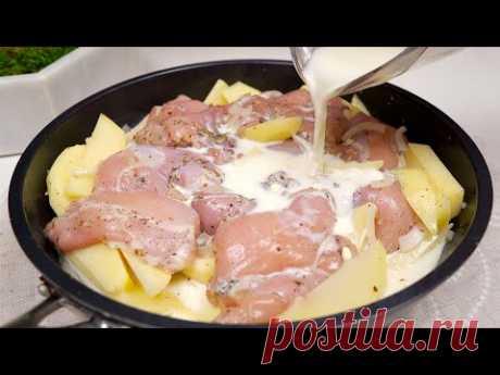 Приготовьте курицу таким образом, и результат будет восхитительным и вкусным!