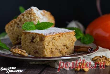 Сладкий постный пирог греческий рецепт с изюмом и орехами в духовке - Сладкие хроники
