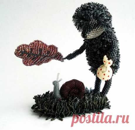 Поделки из бисера: инструкция как плетутся животные и другие необычные фигурки