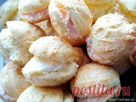 Гужеры — великолепные французские заварные булочки с сыром