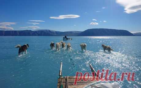 8 фото тающих ледников в Арктике, которые показывают масштаб глобального потепления