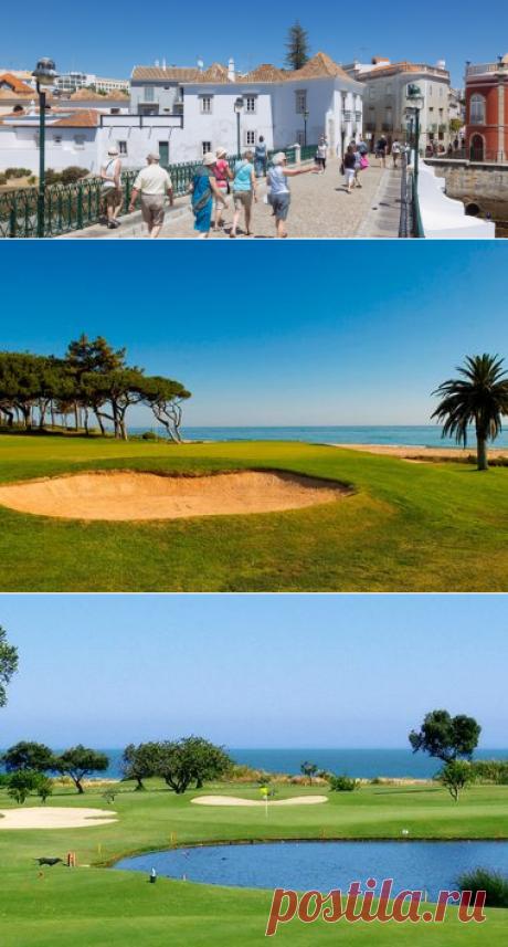 Campos de Golfe no Algarve   Golden Club Cabanas