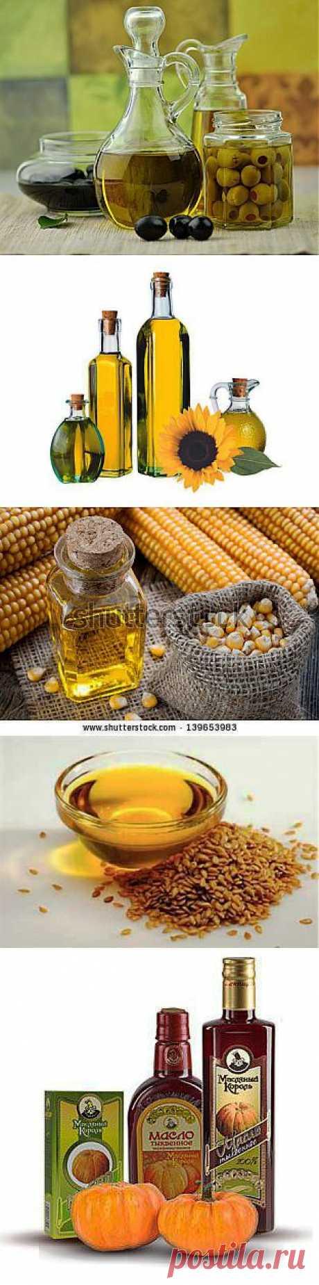 (+1) тема - Растительное масло: виды и польза | ЗДОРОВЫЙ ОБРАЗ