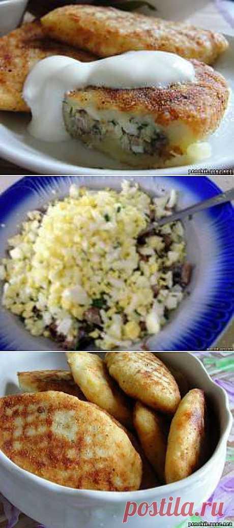 Зразы картофельные с рыбой - Всё Фаршированное - ПОНЧИК