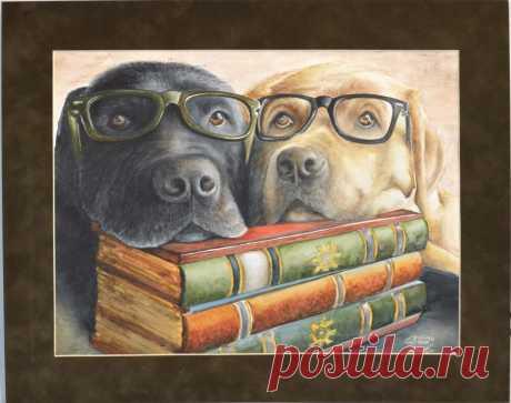 Животные (портрет) - OLASUN - авторские картины