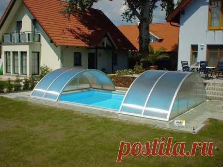 Навесы из поликарбоната для бассейнов. | OK.RU