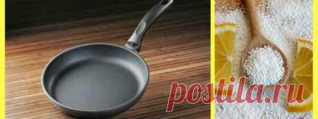 Как очистить тефлоновую сковороду от нагара снаружи и внутри? | Stepan4ik | Яндекс Дзен