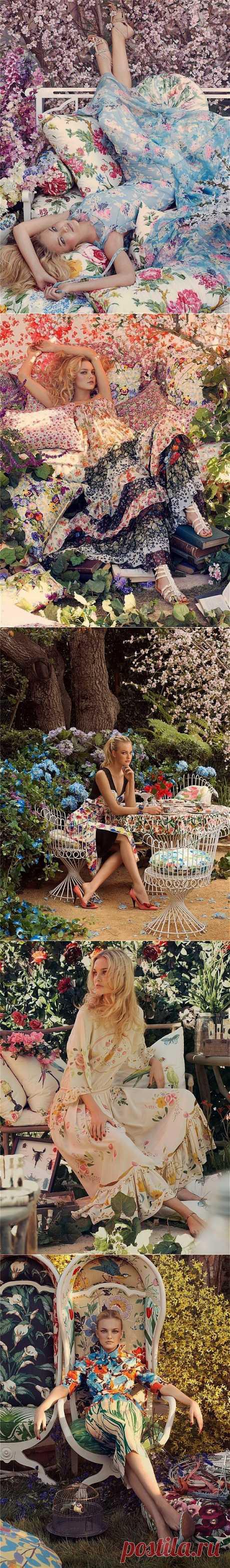 Фотограф Steven Meisel. Женщина-весна..