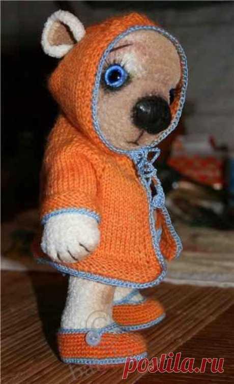 Вязанные игрушки крючком - описание. Мишка Тедди своими руками / Мастер-классы, творческая мастерская: уроки, схемы, выкройки кукол, своими руками / Бэйбики. Куклы фото. Одежда для кукол