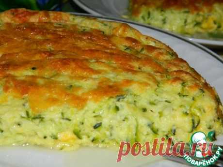 Кабачковое суфле – кулинарный рецепт