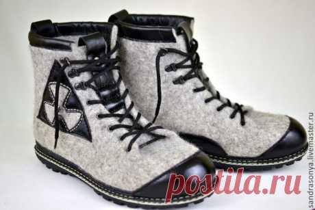 9300aa4cfc306 Купить Ботинки валяные мужские