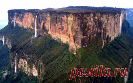 Уникальная Венесуэла. Гора Рорайма