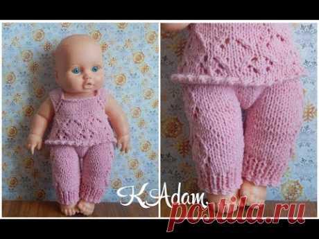 """Clothes for dolls spokes. """"Розовая нежность&quot suit;. Part second."""