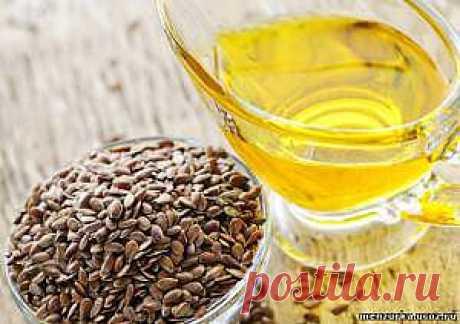 Льняное масло польза или вред - Лекарственные Растения - Мензурка