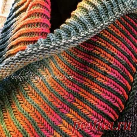 Уроки вязания в технике бриошь Brioche knitting (Уроки и МК по ВЯЗАНИЮ) | Журнал Вдохновение Рукодельницы