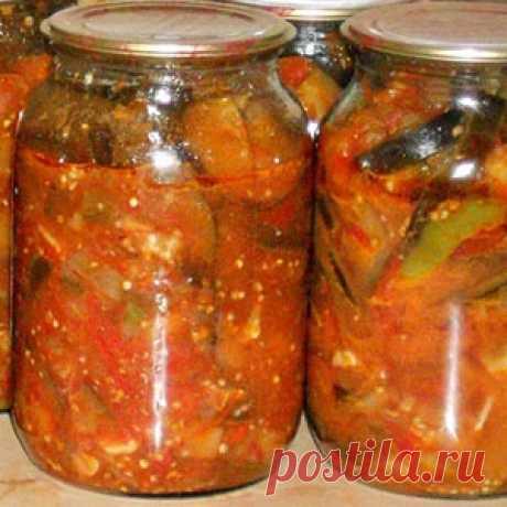 Овощной салат-соус «Анкл бенс» на зиму