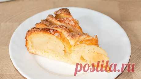 Пеку через день яблочный пирог с хрустящей корочкой и не надоедает. Быстрая выпечка с яблоками   IrinaCooking   Яндекс Дзен