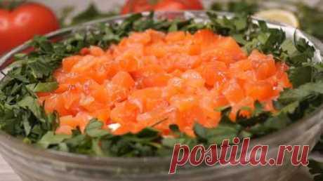 Как приготовить салат на праздничный стол