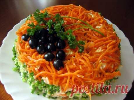 Салат «Изабелла» — Sloosh – кулинарные рецепты