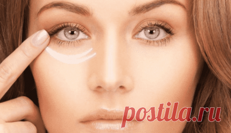 Как уплотнить кожу под глазами в домашних условиях.