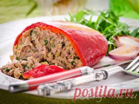 Кухня Прованса - Перцы с тунцом