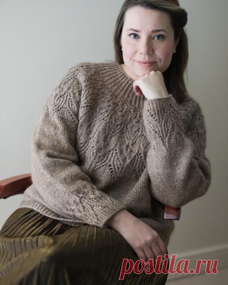 Вязаный пуловер Kuutar | ДОМОСЕДКА
