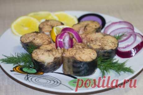 Скумбрия в луковой шелухе за 3 минуты  быстро и вкусно рецепт с фото пошагово и видео