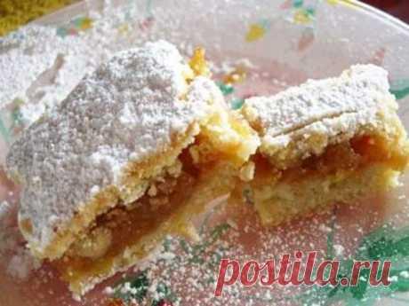 Турецкий яблочный пирог - остается долго свежим и супер сочным!