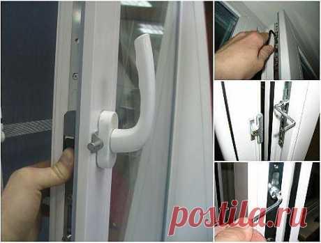Регулировка и ремонт пластиковых окон своими руками. Инструкции с фотографиями