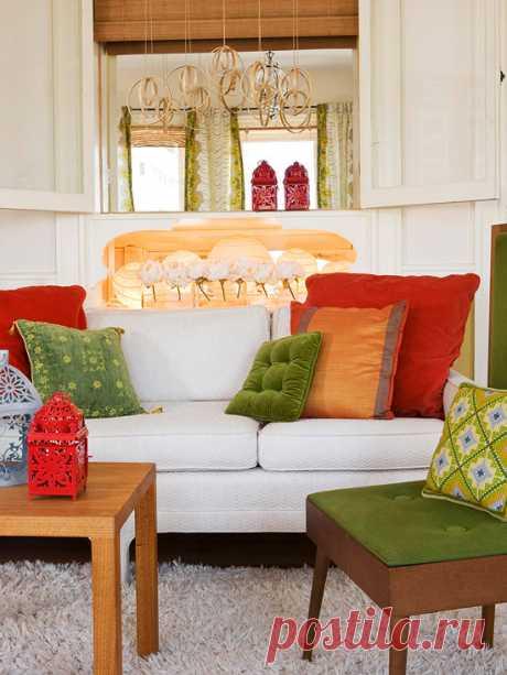 Очарование зеленого цвета в интерьере — Квартирный вопрос