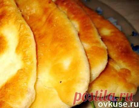 Тонкие жареные пирожки с картофелем - Простые рецепты Овкусе.ру