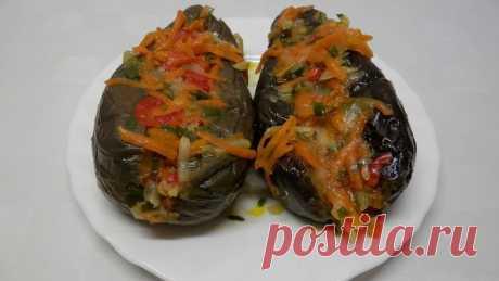 Квашеные баклажаны фаршированные морковью - Простые рецепты Овкусе.ру