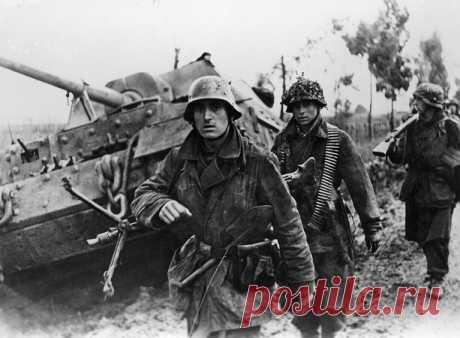 Как воевали элитные войска Третьего рейха против Красной Армии | Русская семерка